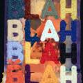 Mel Bochner | BLAH 73 x 54 cm