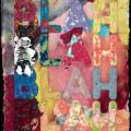 Mel Bochner   Blah  30 x 23 cm