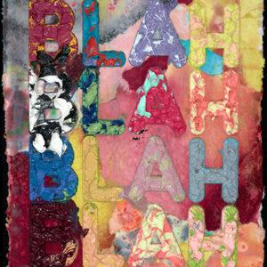 Mel Bochner | Blah  30 x 23 cm