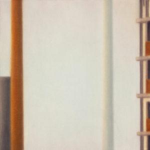 ciminiere, 2016, olio su tela, 50 x 50 cm   19.7 x 19.7 in