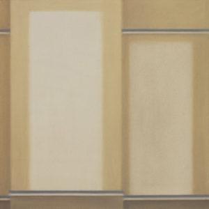 due bianchi, 2016, olio su tela, 50 x 50 cm   19.7 x 19.7 in